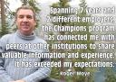 Roger Moye - Campus Champion Quote