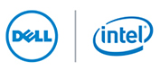 Dell and Intel logos.