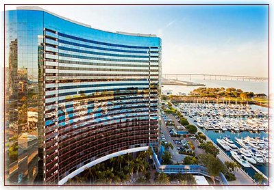 Marriott Marquis and Marina, San Diego.